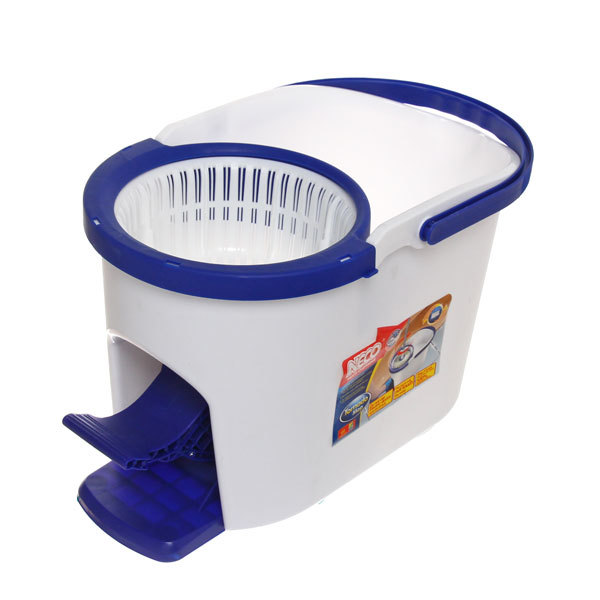 Набор для мытья полов Neco (ведро с отжимом, швабра, две насадки) купить оптом и в розницу
