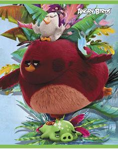 """Тетрадь 24л.кл.скрепка HATBER, """"Angry Birds (Movie)"""" купить оптом и в розницу"""
