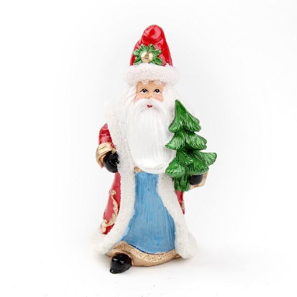 Фигурка ″Дед Мороз с елочкой″ 15см купить оптом и в розницу