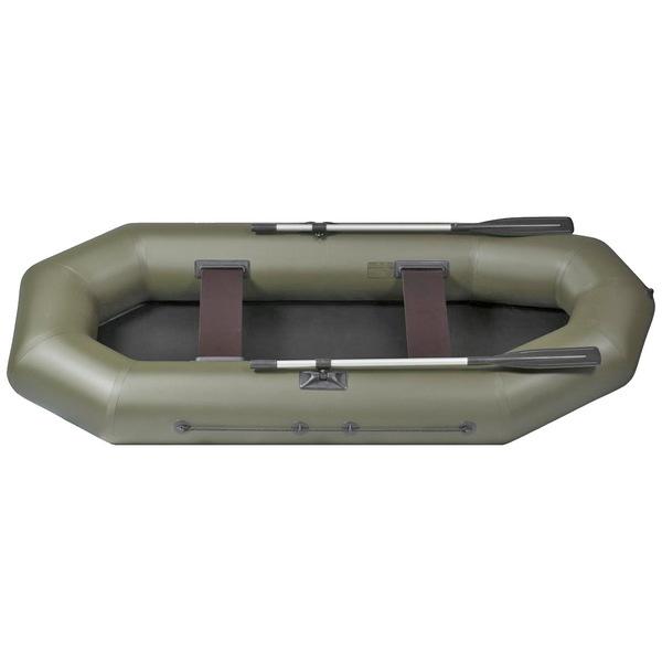 Лодка надувная ″Лоцман″ C-300-М ЖСП, передвижные сидения, цвет зеленый купить оптом и в розницу