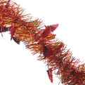 Мишура новогодняя 2 метра 6см ″Елочки″ красный, золотой купить оптом и в розницу
