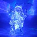 Фигурка с подсветкой ″Ангелочек с арфой″ 8,5 см купить оптом и в розницу