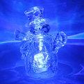 Фигурка с подсветкой ″Снеговичок хрустальный″ 12см купить оптом и в розницу