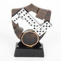 Кубок из полистоуна Домино (10 см) HX-1255-C купить оптом и в розницу