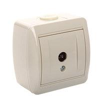 Розетка ТВ оконечная NATA крем 710-0300-130 (Р) купить оптом и в розницу