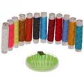 Швейный набор (нитки цветные,иглы) купить оптом и в розницу