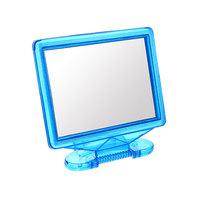 Зеркало настольное в пластиковой оправе ″Бусинки″ Прямоугольник 17*13,5см 451-11 купить оптом и в розницу