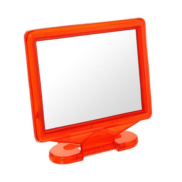 Зеркало настольное в пластиковой оправе ″Выгодное″ прямоугольник, подвесное 17*13,5см купить оптом и в розницу