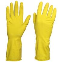 Перчатки латексные с Х/Б напылением, размеры в ассортименте L, M купить оптом и в розницу