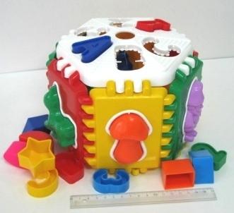 Логич.игрушка Куб Лесная Школа N-002 купить оптом и в розницу