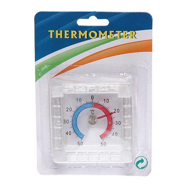 Термометр оконный биметаллический квадратный, -50+50С, блистер купить оптом и в розницу