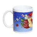 Кружка керамическая 300мл ″Дед Мороз на санях″ купить оптом и в розницу