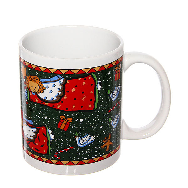 Кружка керамическая 300мл ″Новогоднее волшебство″ купить оптом и в розницу