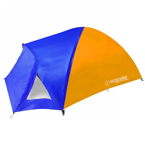 Палатка кемпинговая 4-местная 2-слойная Kama с окнами ТУРИСТ МАСТЕР, (215+80)*245*140 купить оптом и в розницу