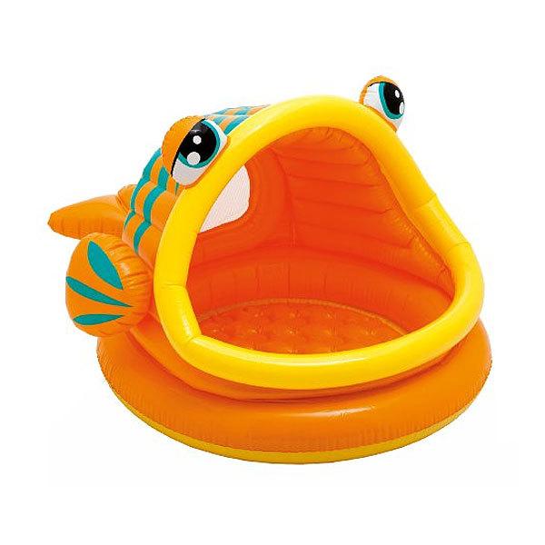 Бассейн надувной с навесом 124*109*71 см Lazy Fish Shade Intex (57109) купить оптом и в розницу