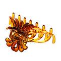 Заколка-краб для волос ″Янтарный шик″, цвет микс купить оптом и в розницу