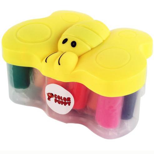 Набор ДТ Тесто для лепки 14 цв. формочки 63933 Color Puppy купить оптом и в розницу