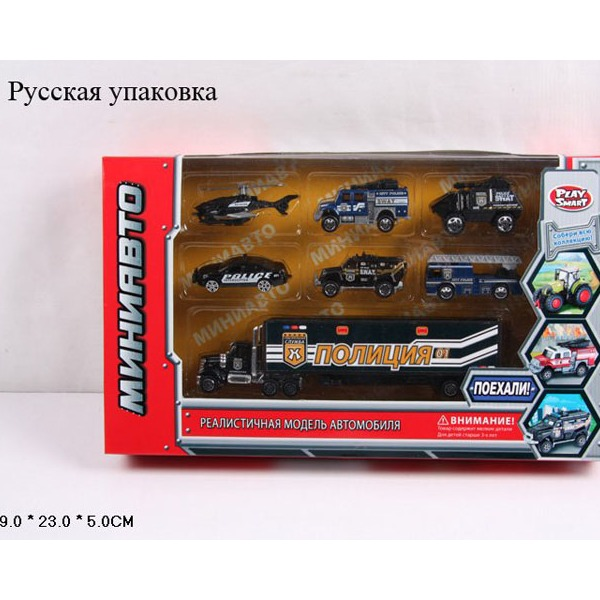 Набор машин 6385-3 Полиция в кор. купить оптом и в розницу