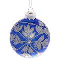 Новогодние шары ″Топаз.Снежинка″ 7см (набор 6шт.) купить оптом и в розницу