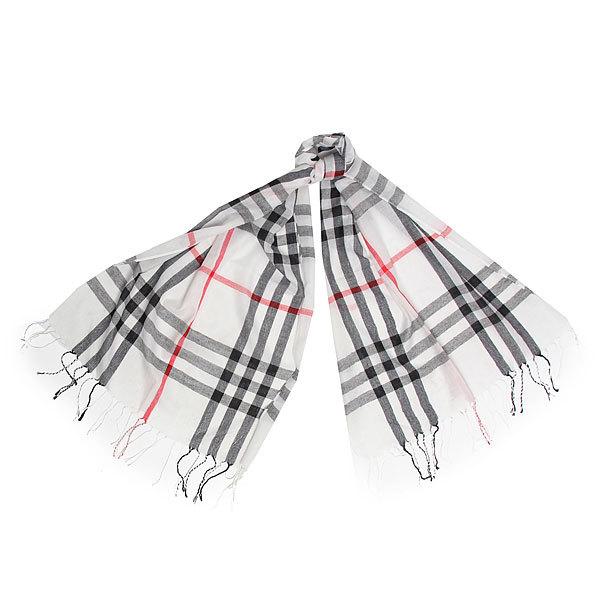 Палантин-шарф унисекс ″Модная клетка″ 170*60 242-6 купить оптом и в розницу