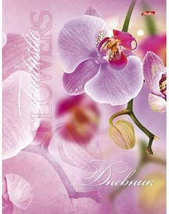 """Дневник универсал.тв.обл.HATBER, """"Орхидея"""", порол. купить оптом и в розницу"""