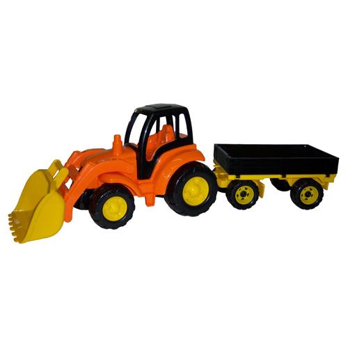 Трактор Чемпион с ковшом и прицепом 0520 П-Е /2/ купить оптом и в розницу