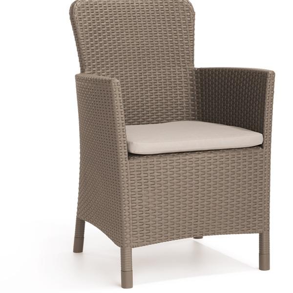 Кресло  (искусственный ротанг)  МIAMI бежевый Curver купить оптом и в розницу