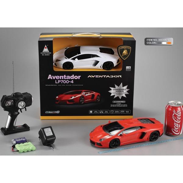 Машина р/у 1:18 300306-1-QX Lamborgini Aventador LP 700-4 с аккум. в кор. купить оптом и в розницу