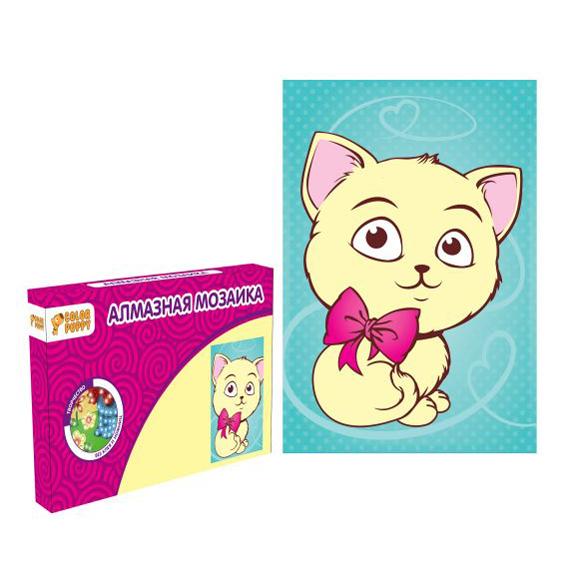 Набор ДТ Алмазная мозаика Котенок 95281 Color Puppy купить оптом и в розницу