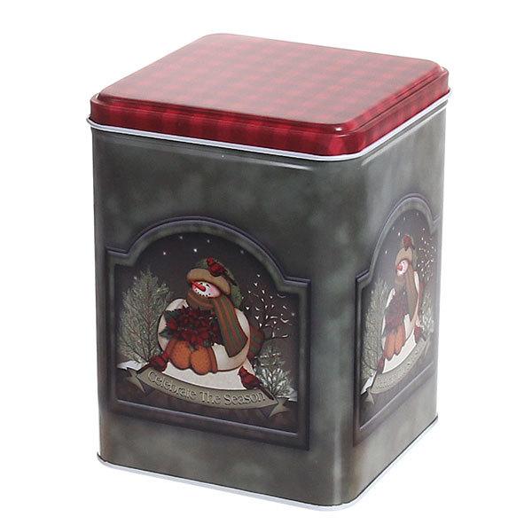 Набор банок жестяных 3шт ″С Новым годом″ (500,900,2000мл) купить оптом и в розницу