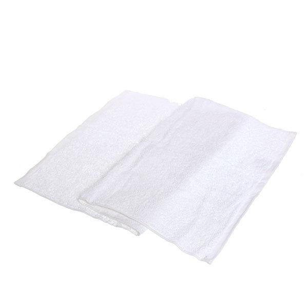 Махровое полотенце 40*70 белое ГК70-000 купить оптом и в розницу