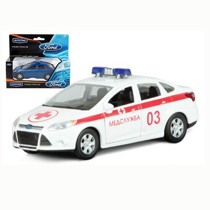 Модель Ford Focus скорая помощь 1:36 49083 купить оптом и в розницу