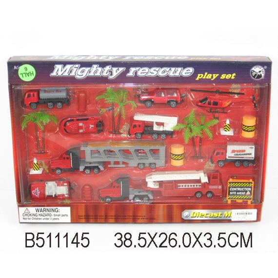 Набор машин металл 11268-ВА Пожарный LITTLE ANT купить оптом и в розницу