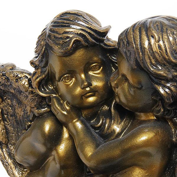 Статуэтка Ангелы пара (античн.золото) купить оптом и в розницу