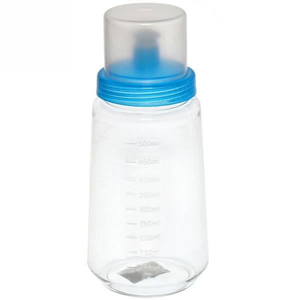 Бутылка пластиковая с дозатором и мерной шкалой 500мл купить оптом и в розницу