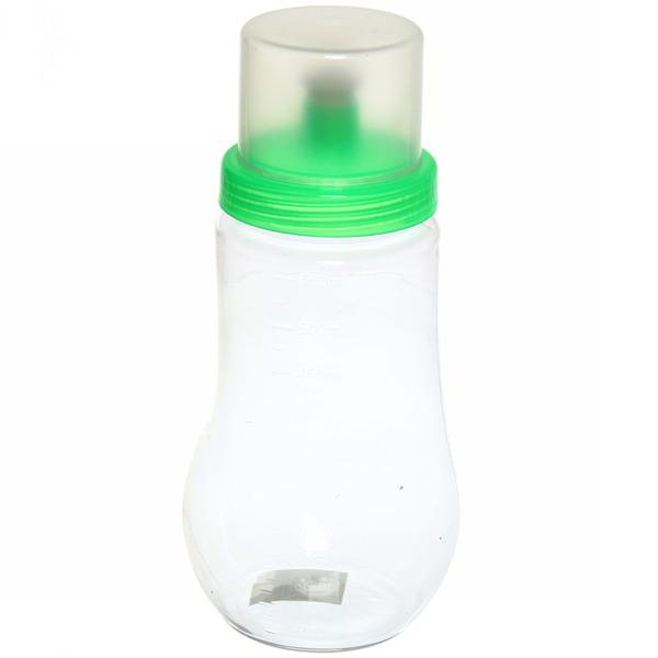 Бутылка пластиковая с дозатором и мерной шкалой 550мл купить оптом и в розницу