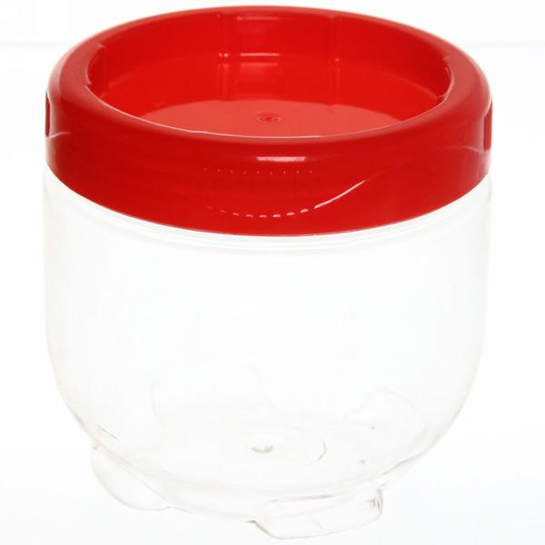 Банка для продуктов пластиковая 500 мл с универсальной крышкой 1516 купить оптом и в розницу