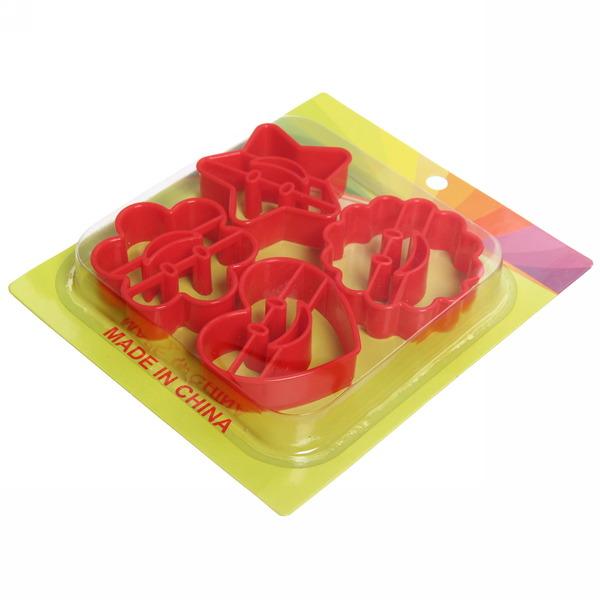 Форма для печенья 4шт ″Смайлики″ DS-005 купить оптом и в розницу