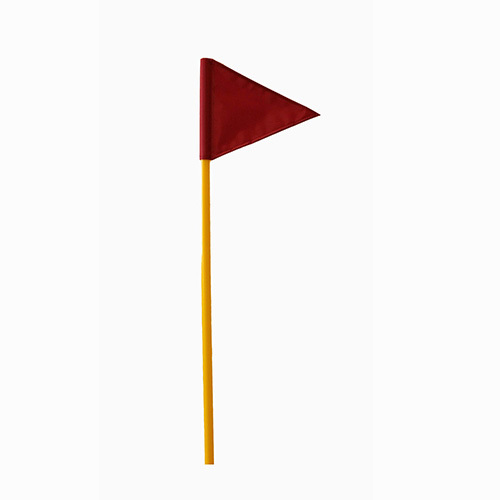 Палка гимнастическая с флажком 106см У789 /20/ купить оптом и в розницу