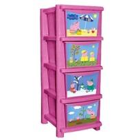 """Детский комод для детской комнаты """"Свинка Пеппа"""" 335мм розовый*1 купить оптом и в розницу"""