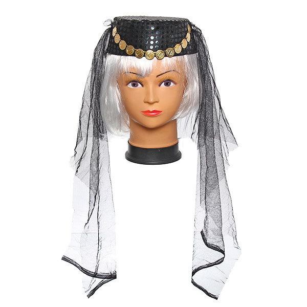 Шляпа карнавальная ″Восточная красавица″ черные купить оптом и в розницу