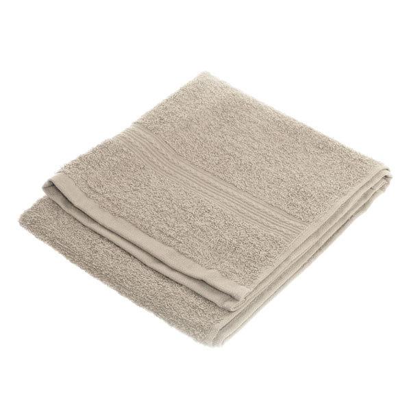 Махровое полотенце 40*70см светло-серое ЭК70 Д01 купить оптом и в розницу