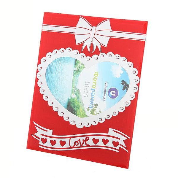 Фоторамка из стекла ″Love″ 10х15см ZH3062-46 купить оптом и в розницу