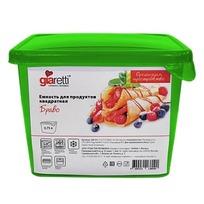 Емкость для продуктов Браво МИКС квадратная 0,75 лл*50 купить оптом и в розницу
