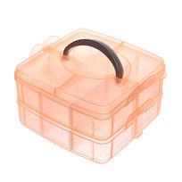 Контейнер для мелочей 836-2 15х15х9 купить оптом и в розницу