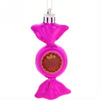 Ёлочная игрушка-конфетка ″Большой прибыли!″ (роз) купить оптом и в розницу