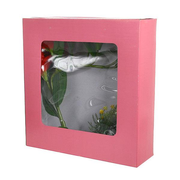 Цветы искусственные в тарелке ″Лилии″ в подарочной коробке ZDH купить оптом и в розницу