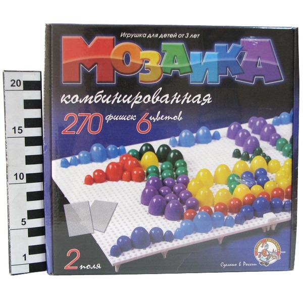 Мозаика 270/10/15/20 цветн. 02002 купить оптом и в розницу
