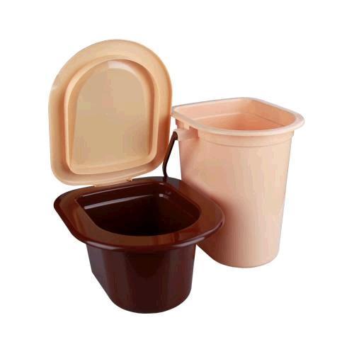 Ведро-туалет 17л. со съемным горшком (уп.5)  (Октябрьский) купить оптом и в розницу