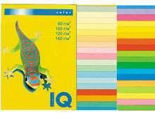 Бумага цветная, А4, 80г, IQ канареечно-желтый, 100л, Австрия. купить оптом и в розницу